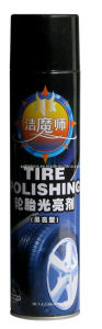 Car Care Tyre Cleaner Polish 650ml Pure