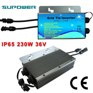 Waterproof 230W solar do laço da grade Power Inverter com Monitoramento Função