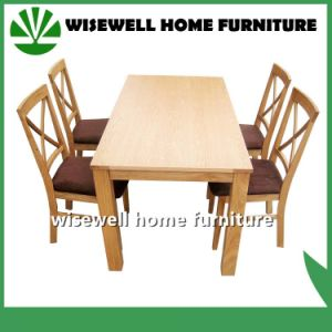 5PC Dining Room Wooden Furniture (W-DF-9026) pictures & photos
