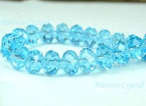 Crystal Flat Round Beads (H7008B)