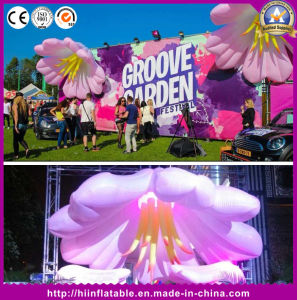 Custom Giant Promotion Inflatable Stage Flower Decoration/Inflatable Plant/Inflatable Flower pictures & photos