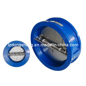 ANSI Class 125 and ISO Pn 10 and Pn 16 Connections for Wafer Check Valve pictures & photos