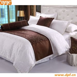 Hotel Decorative Jacquard Bed Runner pictures & photos