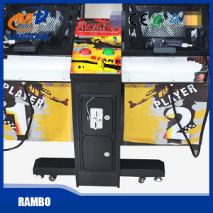 Rambo Arcade Coin Operated Shooting Game Machine Indoor Video Game for Game Center pictures & photos