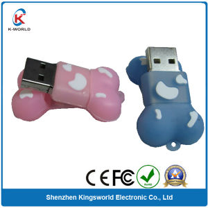 8GB Silicon Bone USB Pen Drive pictures & photos