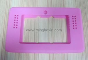 Pink Silicone Rubber Housing with Ios SGS