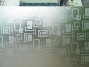 Frosted, Acid Etch, Sandblasted Glass (JINBO) pictures & photos