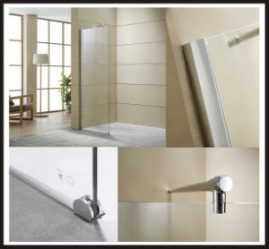 S/S Bottom Clamp Shower Bath Screen pictures & photos