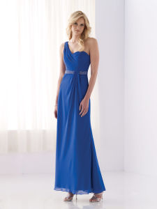 One Shoulder Bridesmaid Dress (BD21)