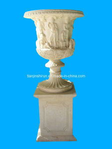 Marble Urn on Base (VS313) pictures & photos