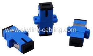 Sc-Sc PC Fiber Optic Adapters- Fiber Optic Connector pictures & photos