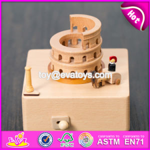 Customize Cartoon Gifts Wooden Girls Music Box W07b050 pictures & photos