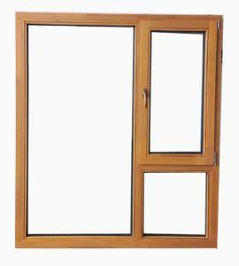 Aluminum Glass Casement Window (pH-4428) pictures & photos