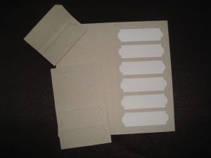 Microscope Slide Box (Paper Box)