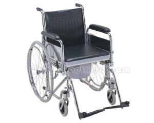 High Quality Commode Wheelchair with CE & ISO pictures & photos