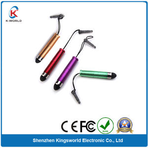Hot Sell Rubber Tip Plastic Capacitive Touch Pen (KW-0371) pictures & photos