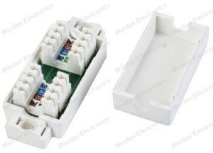 Cat5e IDC 4pair Junction Box Cable Coupler pictures & photos