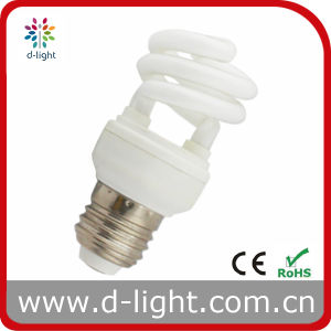 9W 11W E27 T2 Super Mini Half Spiral CFL pictures & photos