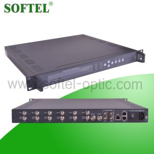 6 DVB-S2 Tuner to IP Multiplexer pictures & photos