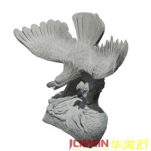 Carving Granite Stone Eagle Statue (XMJ-EG01)