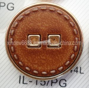 Fashion Leather Cover Button pictures & photos