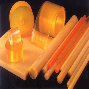 Orange Color Polyurethane PU Plastic Sheet / Bar pictures & photos