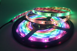 5m 5V IC2812 Dream Color LED Light Strips pictures & photos