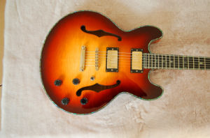 Archtop Cheap Price Fully Handmade Jazz Guitar