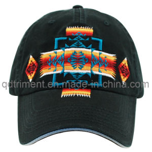 Washed Joint Embroidery Sandwich Twill Sport Baseball Cap (TMB9048) pictures & photos