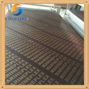 China Factory Supply All Thickness Film Faced Plywood Poplar pictures & photos