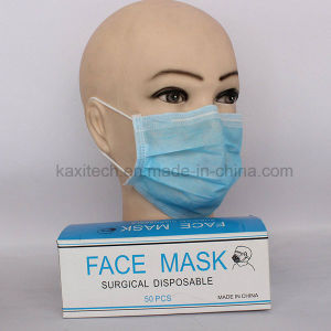Medical Non Woven Face Mask Disposable Tie Earloop Types Kxt-FM41 pictures & photos