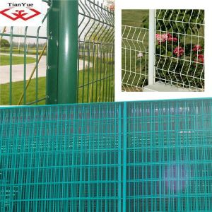 PVC Wire Mesh Fence Panel pictures & photos