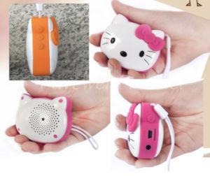 Cartoon Kitty Shaped MP3 Player Speaker