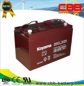 High Quality 100ah 12V Solar Battery Lead Acid AGM Battery pictures & photos