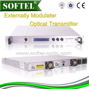 High Power Externally Modulated 1550nm Fiber Optical Transmitter pictures & photos