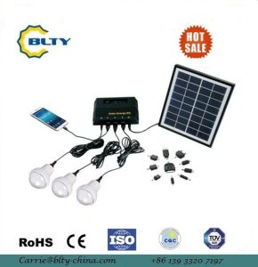 4W Solar Power Lighting Kit with USB Output pictures & photos