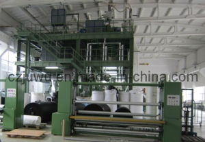 PP Single Die Spunbonded Nonwoven Machinery (S, SS, SMS, SMMS) pictures & photos