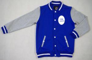 Youth′s French Terry Custom Baseball Jacket