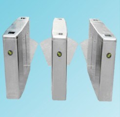 Two-Lane Flap Turnstile Gate