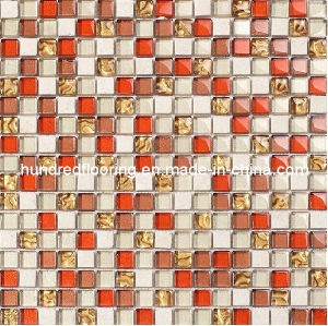 Wall Backsplash Glass Mosaic Tile (HGM231) pictures & photos