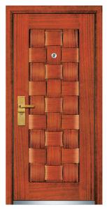 Steel Wooden Door (FXGM-A104) pictures & photos