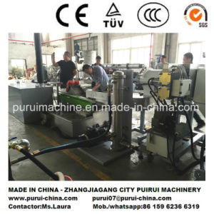 Watering Die Face Cutting Plastic Recycling Granulating Machine pictures & photos