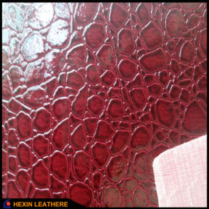 Synthetic PVC Leather for Bags Wallets Hw-865 pictures & photos