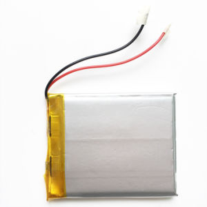 3.7V 1500mAh Lithium Polymer Li-Polymer Rechargeable Battery for MP3 DVD Pad Mobile Bluetooth Tablet PC 504050 pictures & photos
