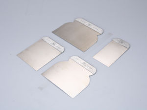 4 Pieces Mirror Polished Putty Knife Scraper Set pictures & photos