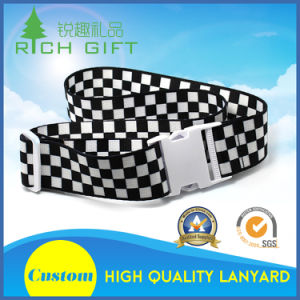 Custom Nylon Printing Luggage Straps/Belt and Name Tag with Screen Printed Logo pictures & photos