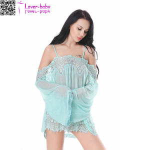 2017 Women Ladies Babydoll Sexy Plus Lingerie L28220-4 pictures & photos