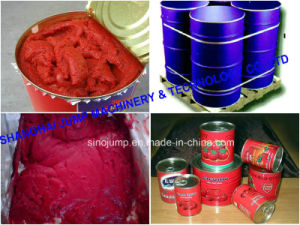 Tomato Paste Brix 36-38% in 220L Aseptic Bag Drum pictures & photos