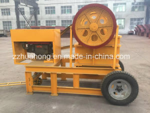 China Movable Rock / Stone/ Ore /Limestone Jaw Crusher pictures & photos