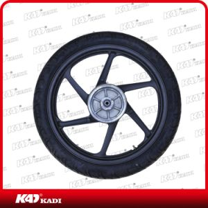 Motorcycle Accessories Motorcycle Tyre with Wheel for CB125 pictures & photos